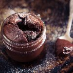 Molten Chocolate Cake Baked in Glass Jar Recipe