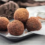 Protein Chocolate Ball With Cacao Powder Recipe