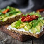 Vegan Avocado Toast with Sun-dried Tomatoes Recipe