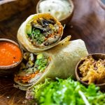 Vegan Burrito with Black Beans Recipe