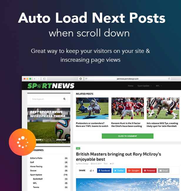 PenNews - News/ Magazine/ Business/ Portfolio/Reviews Landing AMP WordPress Theme - 30