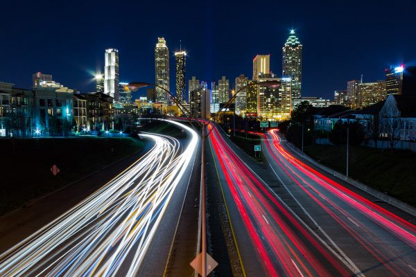City Light with Long Exposure Photography